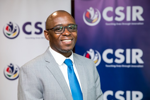 CSIR Chief Executive Officer Dr Thulani Dlamini.