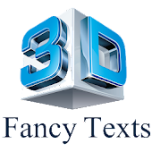 3D Fancy Text Editor