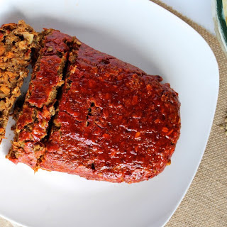 Maple-Glazed Mushroom and Lentil Loaf [Vegan, Gluten-Free].