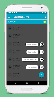 Call Blocker - Blacklist, SMS Blocker Pro Screenshot