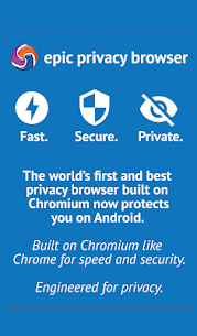 Epic Privacy Browser with AdBlock, Vault, Free VPN Apk Download For Android 1
