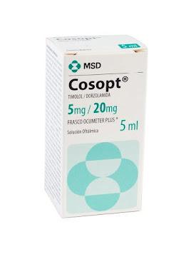 Cosopt 5/20Mg Solución   Oftálmica Frasco x5Ml. MSD Timolol Dorzolamida