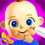 Talking Baby Games for Kids Icon