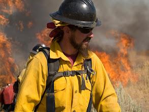 Photo: West Cinder Prescribed Burn, Twin Falls District BLM, Idaho, August 3, 2010, Seth Bond