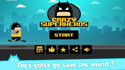 Crazy Superheroes - Happy Run