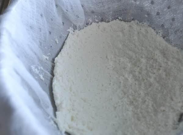 Homemade Ricotta Recipe