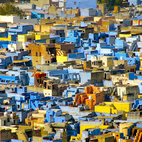 VIEW OF JODHPUR by Doug Hilson - City,  Street & Park  Vistas (  )