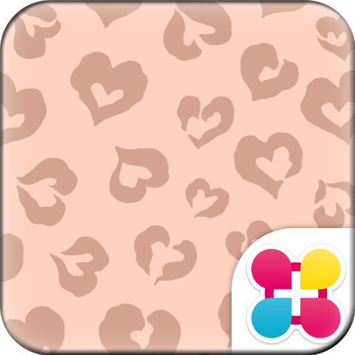 Chic Wallpaper Leopard Heart Icon