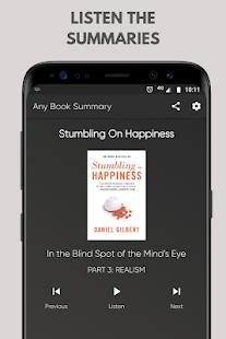 App Any Book Summary: Fiction & Non-fiction APK for Windows Phone