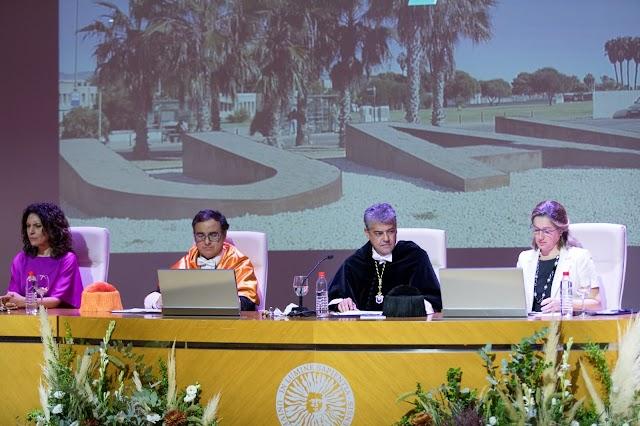 Magdalena Cantero, José Céspedes, Carmelo Rodríguez y María Inmaculada Ramos.