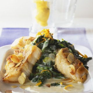 Almond-topped Fish Fillets