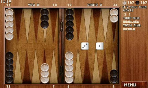 Backgammon Pack : 18 Games 6.060 androidappsheaven.com 8