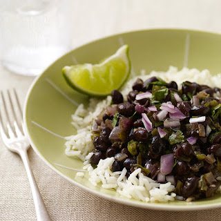 Cuban Black Beans And Rice.