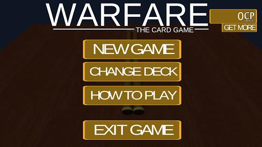 Warfare: The Card Game
