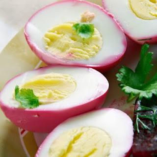 Pennsylvania Dutch Pickled Eggs.