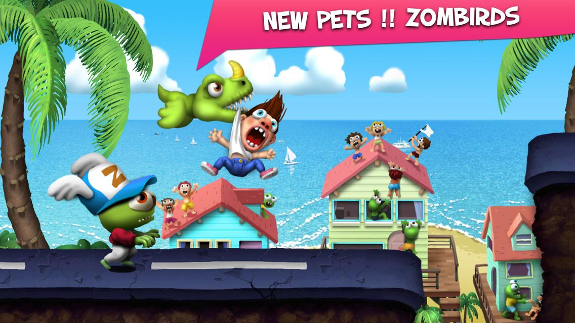 Screenshots of Zombie Tsunami for iPhone