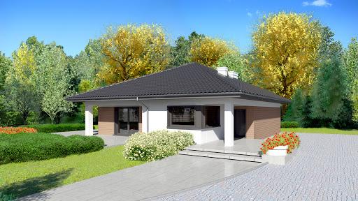 projekt Dom przy Makowej 3