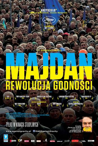 Przód ulotki filmu 'Majdan. Rewolucja Godności'