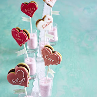 Cookie Heart Pops