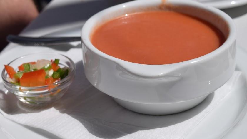 Gazpacho andaluz. Foto: Haydn Blackey.