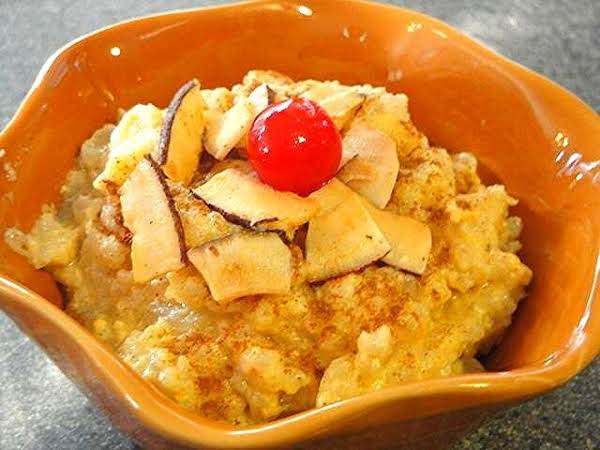 Slowcooker Pineapple Rice Pudding