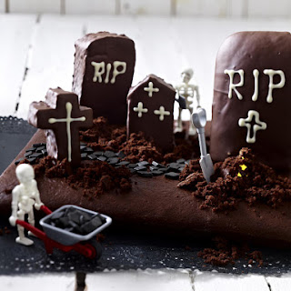 Chocolate Graveyard Cake.