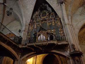 Photo: Morella basilica - ancient organ