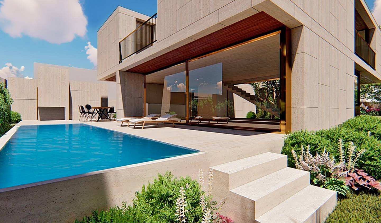 Contemporary house with pool and garden Cascais