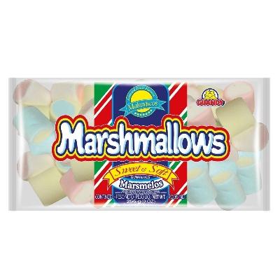 caramelos marshmallows bicolor 255gr