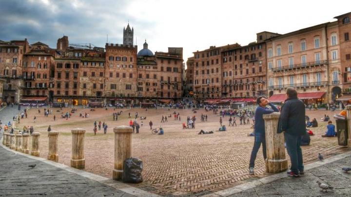 Gettonata... Piazza del Campo di simhoney