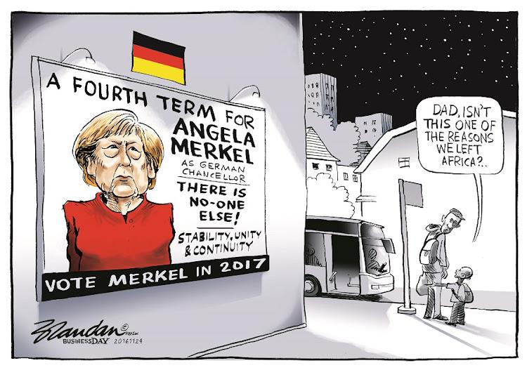CARTOON: Fourth term for Angela Merkel