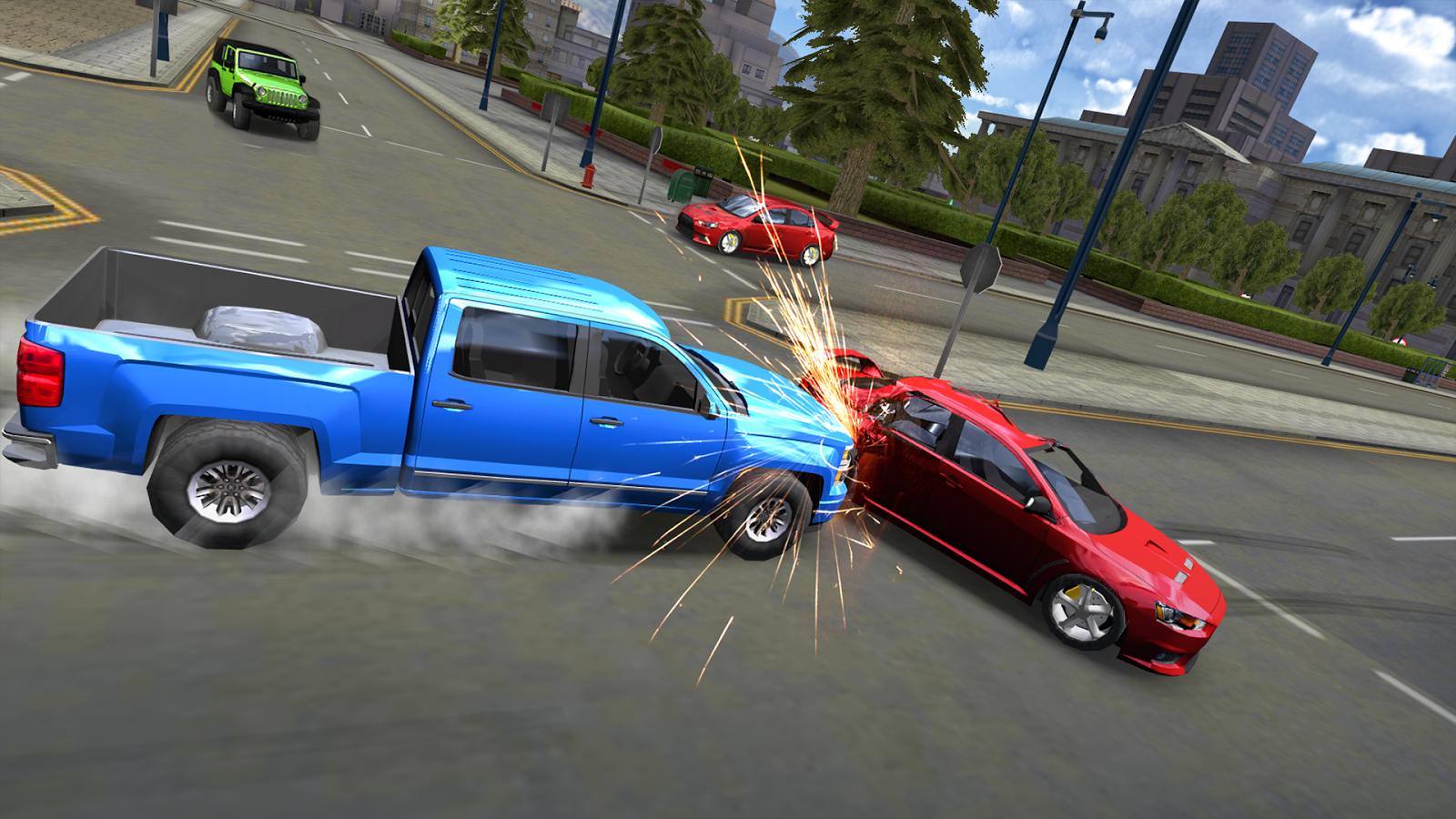Car Driving Simulator: SF- screenshot