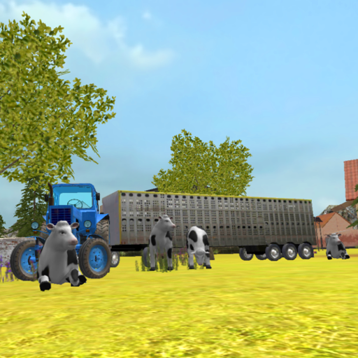 Tractor Simulator 3D: Cow Transport