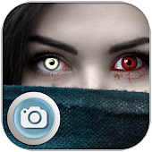 Halloween Eye Contact Lenses App