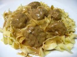 Meatballs & Gravy Recipe