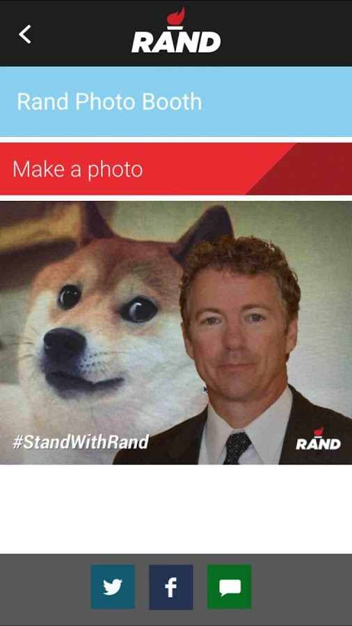 Rand Paul 2016- screenshot