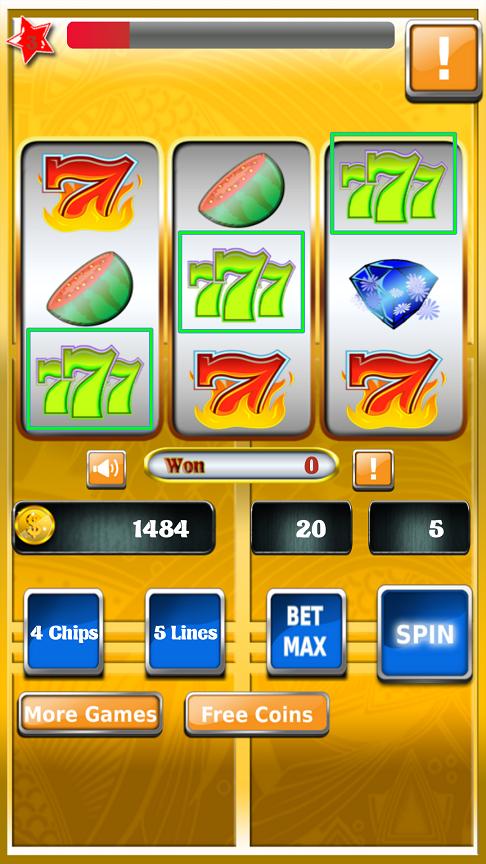 Amazon.com: Button Charm Slot Machine Lucky 777: Toys & Games