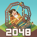 Merge Tycoon: 2048 Theme Park icon