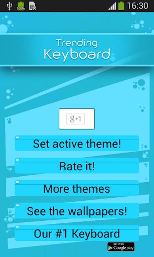 Trending Keyboard