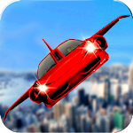 Futuristic Flying Car Ultimate - Aim and Fire Icon