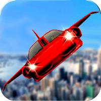 Futuristic Flying Car Ultimate - Aim and Fire