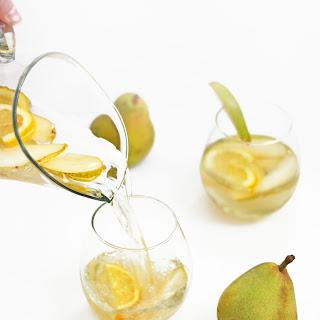 Citrus Pear White Sangria.