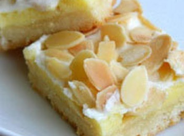 Creamy Almond Bars Recipe