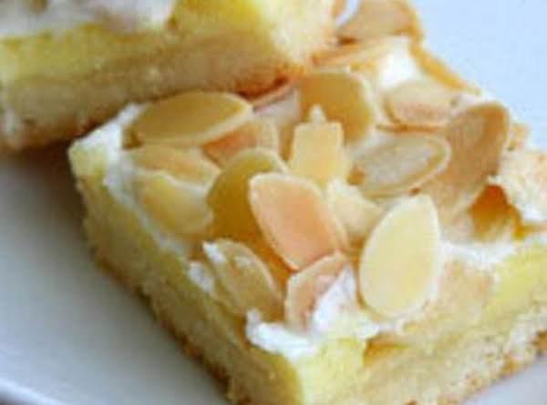 Creamy Almond Bars