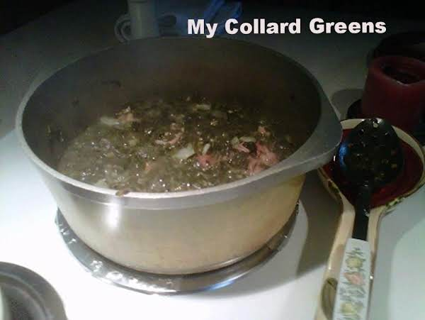 My Fried Collard Greens Recipe