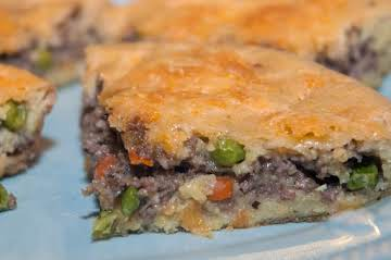 Skillet Essentials: Oven-Baked Meat Pie