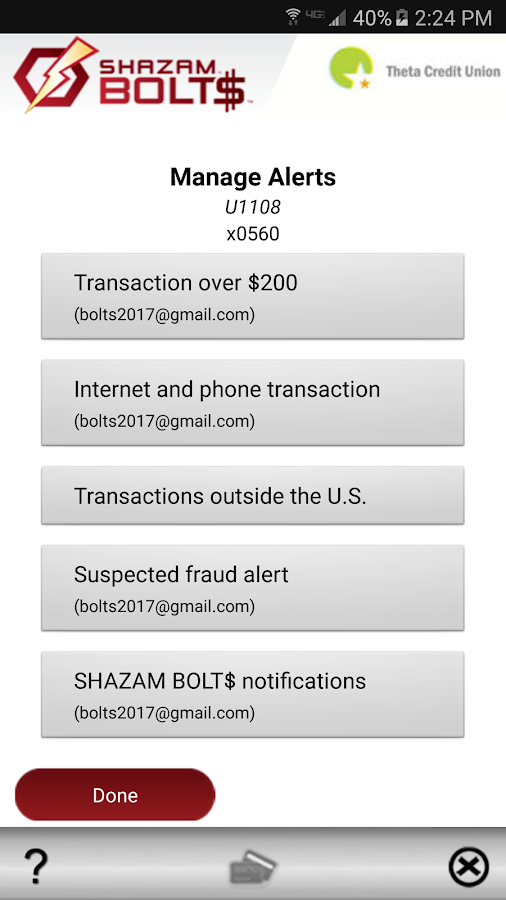 SHAZAM BOLT$- screenshot