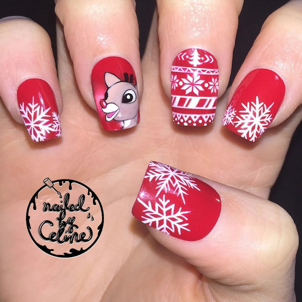 These Nail Art Designs Will Express Your Holiday Cheer In Style