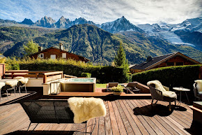 An Elevated Chalet With Serene Views of the Mont Blanc in chamonix