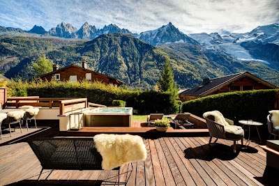 An Elevated Chalet With Serene Views of the Mont Blanc